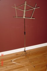Adjustable Chrome Music Stand in Naperville, Illinois