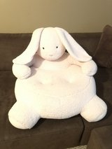 Plush Pottary Barn Kids Bunny Chair in Pleasant View, Tennessee