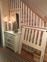 Twin headboard with rails and dresser/mirror. Now separately listed. in Camp Lejeune, North Carolina