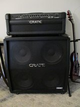 Crate GLX1200H 120W Half Stack with Custom Dust Cover in Camp Lejeune, North Carolina