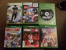 XBOX ONE/360 GAMES in Fort Campbell, Kentucky