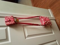 Crossbody Pink Sachel w/matching wallet in Belleville, Illinois