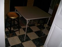 CARD TABLE with; stools in Fort Eustis, Virginia