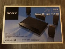 Sony home theatre 3D Blu-ray, surround sound system in Fort Irwin, California