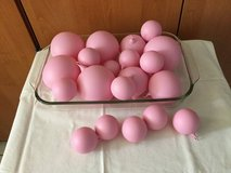 Glass Balls (Set of 20) Pink in Ramstein, Germany
