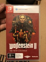 Switch Game - Wolfenstein II The New Colossus in Okinawa, Japan