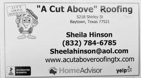 FREE ROOF INSPECTION in Baytown, Texas