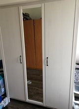 Large Wardrobe with Mirror in Spangdahlem, Germany