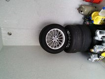 BMW Aluminum Wheels with Summer Tires in Grafenwoehr, GE