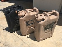 Military USGI 5 ga. Water Cans Jerry Gerry Can in Vista, California