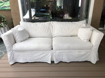 SLIP COVER COUCH in Fairfield, California