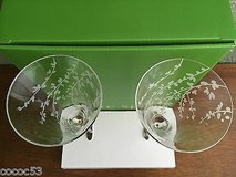 Kate Spade Lenox Crystal Champagne Stems in Chicago, Illinois