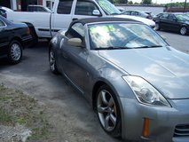 NISSAN 350Z ROADSTER AUTO COLD AIR CONV. ~REDUCED~ in Camp Lejeune, North Carolina