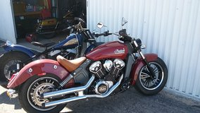 Indian scout in Alamogordo, New Mexico