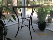 Wicker table w/glass topper in Beaufort, South Carolina