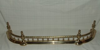 Brass Hearth Fence Fireplace Guard in Batavia, Illinois