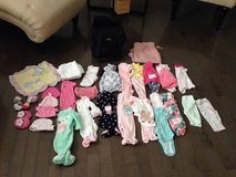 Girl clothing items (0-3 months) in Charleston, West Virginia