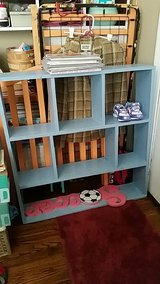 wood cubbie book shelf in Fort Campbell, Kentucky
