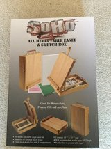Table Easel &Sketch Box in St. Charles, Illinois