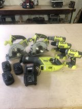 Ryobi 18v Combo Set in Fort Polk, Louisiana
