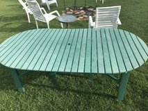 Reduced-Composite patio table in Fort Leonard Wood, Missouri