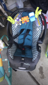 Car seat infant in Vacaville, California