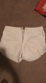 white high waisted shorts in Perry, Georgia