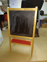 Kids chalkboard and dry erase easel in Lockport, Illinois