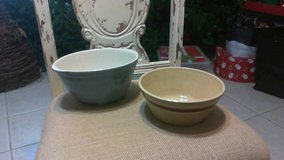 2 old bowls in Fort Leonard Wood, Missouri
