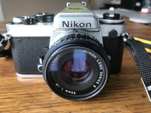 Nikon FE in Fort Campbell, Kentucky