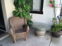 patio chair and table in Camp Pendleton, California