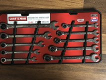 10 Piece Craftsman Ratcheting Wrench Set in Fort Knox, Kentucky