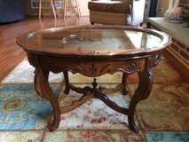 Antique coffee table in Lockport, Illinois