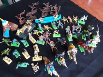 Vintage toy soilders in Alamogordo, New Mexico