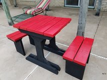PICNIC TABLE & 2 BENCHES in Eglin AFB, Florida