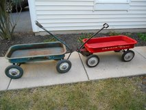 Antique Radio Flyer and Rocket Streak Kids Wagon in Naperville, Illinois