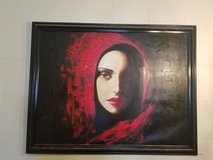 Beautiful Painting 3 1/2 ft x 4 1/2 ft in heavy wooden frame in Colorado Springs, Colorado