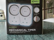Indoor 24 hour timers ( twin pack ) in Lakenheath, UK