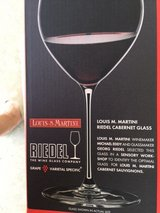 Riedel Crystal Cabarnet wine glasses 2 new in unopened boxes in Lockport, Illinois