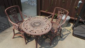 Patio Table and Chairs in Travis AFB, California