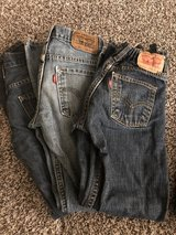3 pair of boys Levi jeans size 10 in Travis AFB, California