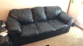 Leather sofa in Hinesville, Georgia