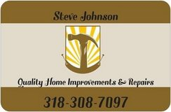 Quality Home Improvements in Leesville, Louisiana