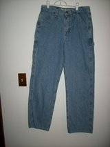 MEN'S LEE JEANS - CARPENTER - 32 X 32 - WORN TWICE in Bellevue, Nebraska