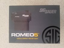 Sig Sauer Romeo5 red dot sight in Cherry Point, North Carolina
