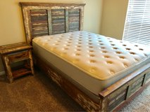 Texas Bedroom Set with queen sized mattress in Fort Hood, Texas