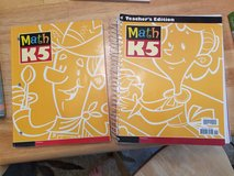BJU Press K5 Math with teacher's edition in Camp Lejeune, North Carolina