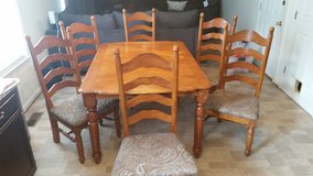 Kitchen Table + 6 Chairs in Fort Meade, Maryland