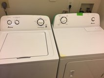 Amana washer and dryer in Quantico, Virginia