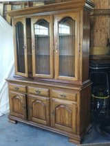 Solid Oak Hutch~~Reduced!~~ in Watertown, New York